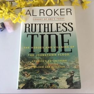 """Ruthless Tide"" History Nature Hard cover Book"